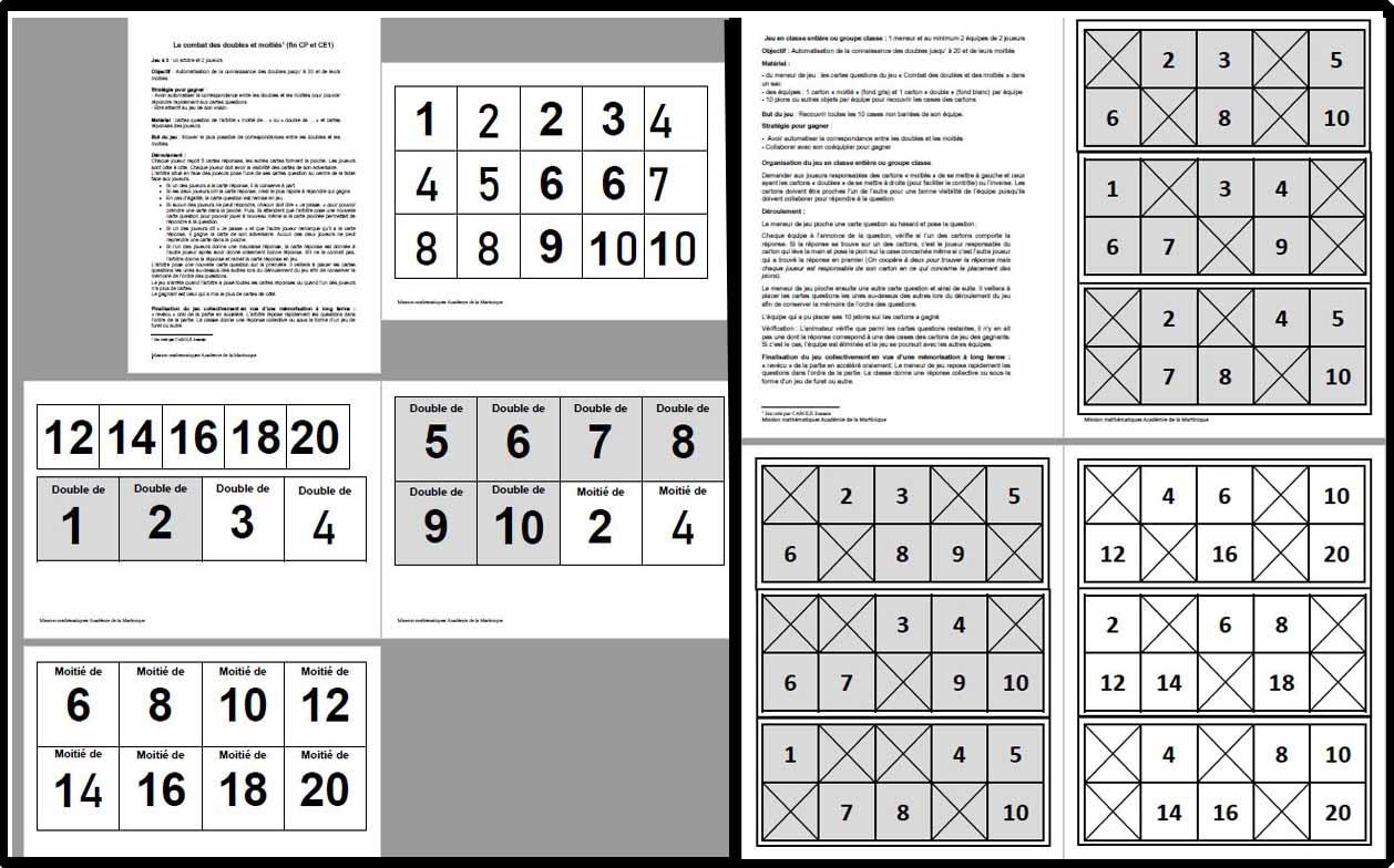 Jeux | Ressources Du Plan Mathématiques 2018-2022 pour Jeux De Matematique