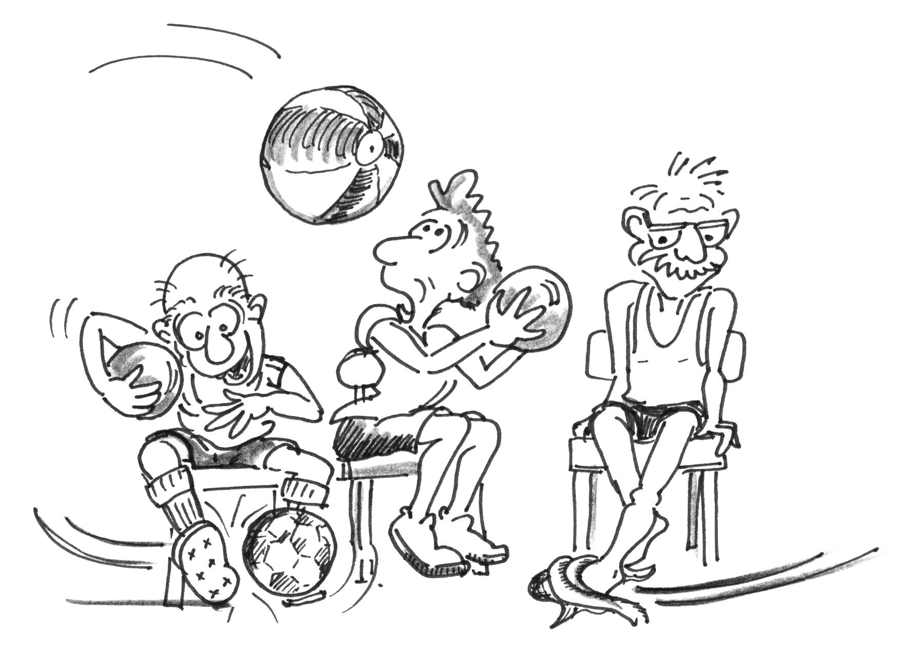 Jeux Sur La Chaise Pour 60 Ans Et Plus – Partie Principale tout Exercice Ludique
