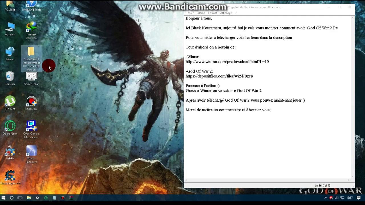 [Jeux] Telecharger God Of War 2 Pc concernant Petit Jeux Pc Gratuit Telecharger
