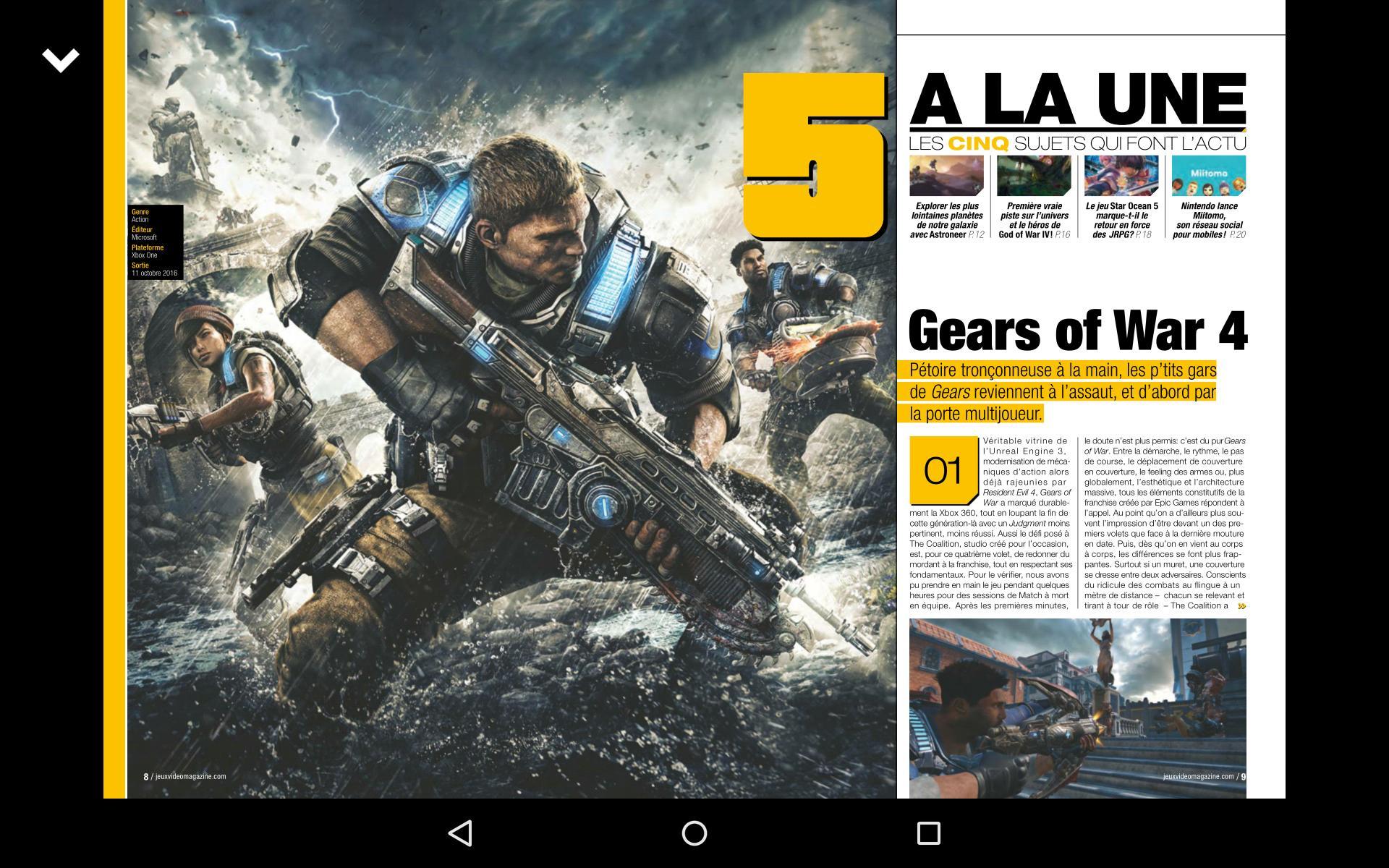 Jeux Vidéo Magazine For Android - Apk Download tout Jeu Force 4