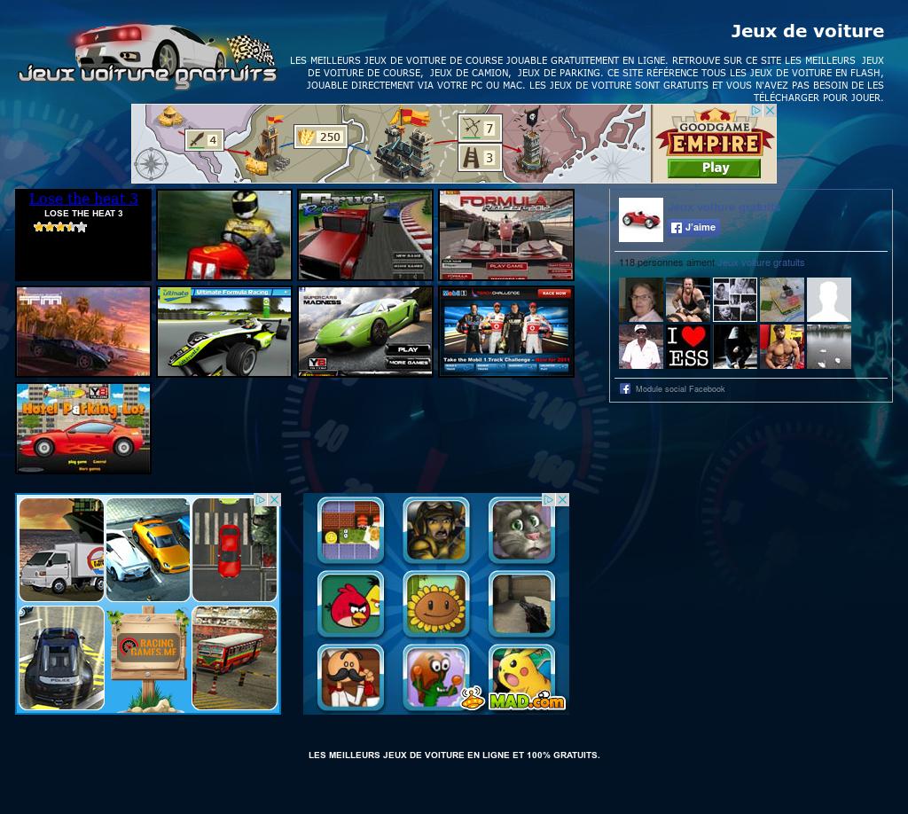Jeux Voiture Gratuits Competitors, Revenue And Employees concernant Jeux Gratuit De Voiture En Ligne
