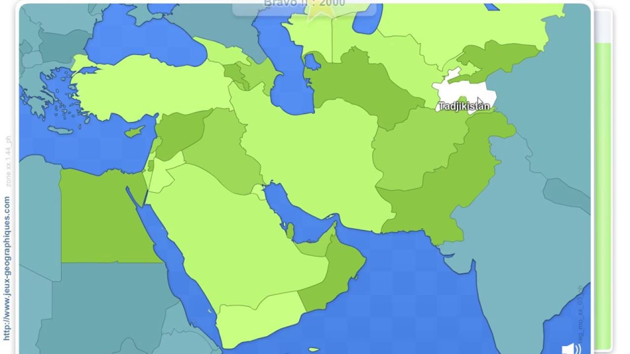 Jg#19-Pays Du Moyen-Orient, Caucase Et Asie Centrale (162 521) dedans Jeux Geographique