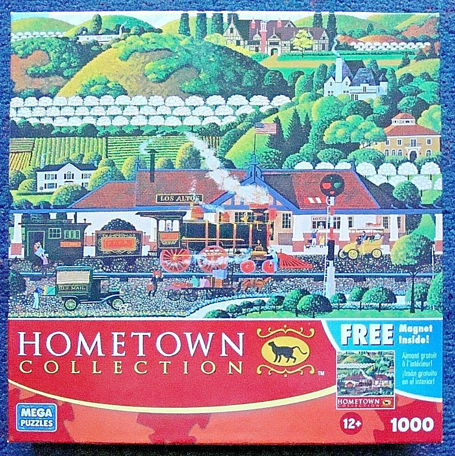 Jigsaw Puzzle 1000 Pcs Los Altos Train Station Hometown Collection Heronim destiné Puzzle Photo Gratuit