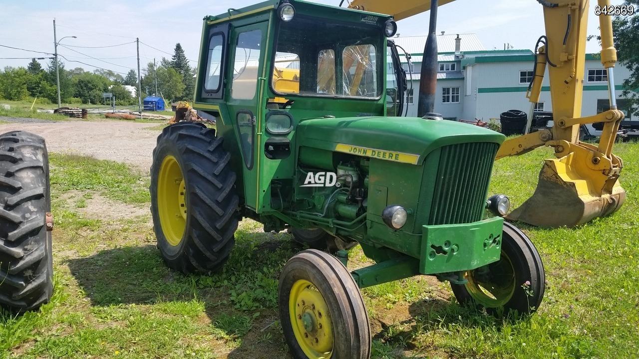 John Deere 510, Diésel, 3 Cylindres, Sortie D'huile, Pto 540 intérieur Image Tracteur John Deere