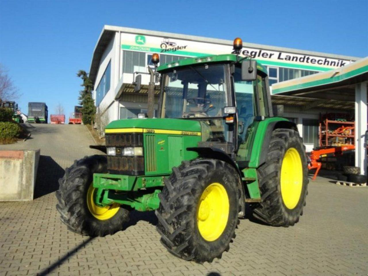 John Deere 6110 Tarım Traktör — 3995021 dedans Image Tracteur John Deere