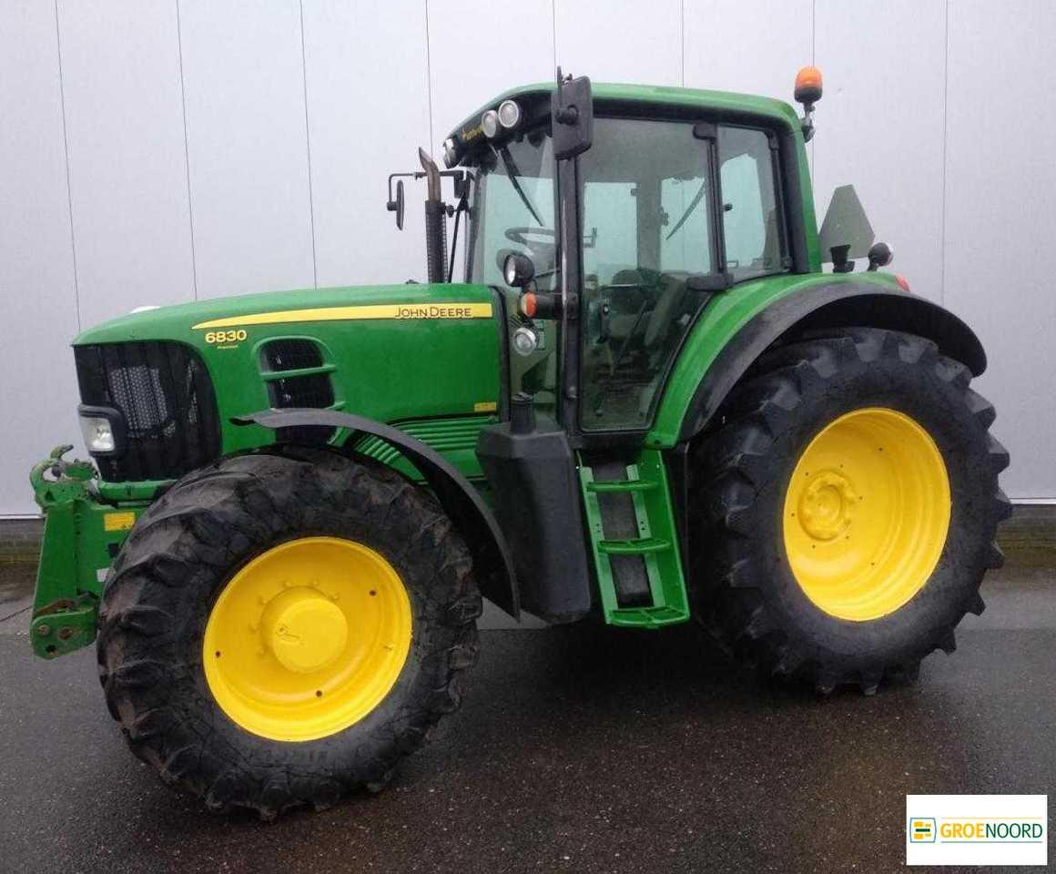 John Deere 6830 Ap Premium Traktor Tractor Tracteur Tarım Traktör — 4183238 intérieur Image Tracteur John Deere