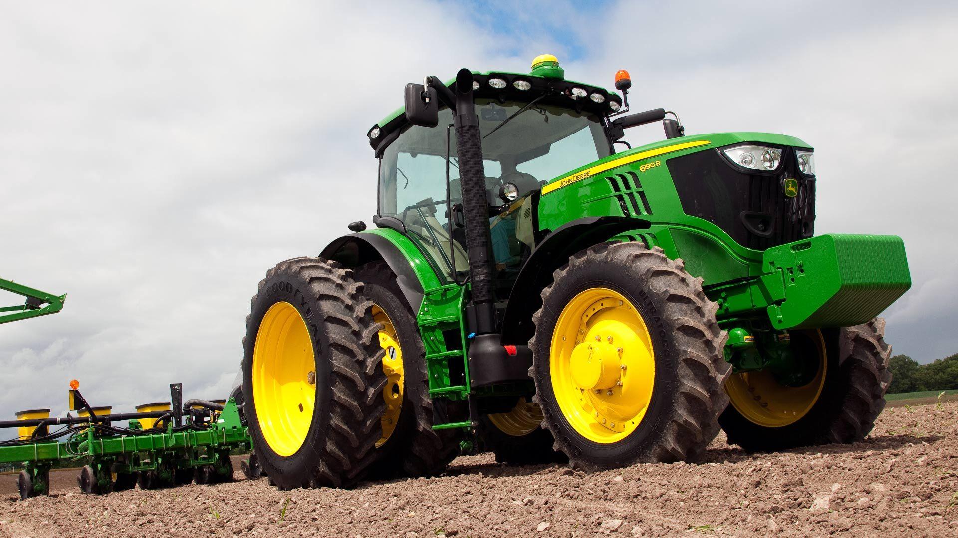 John Deere Tractors | Row Crop Tractors | John Deere Ca serapportantà Image Tracteur John Deere