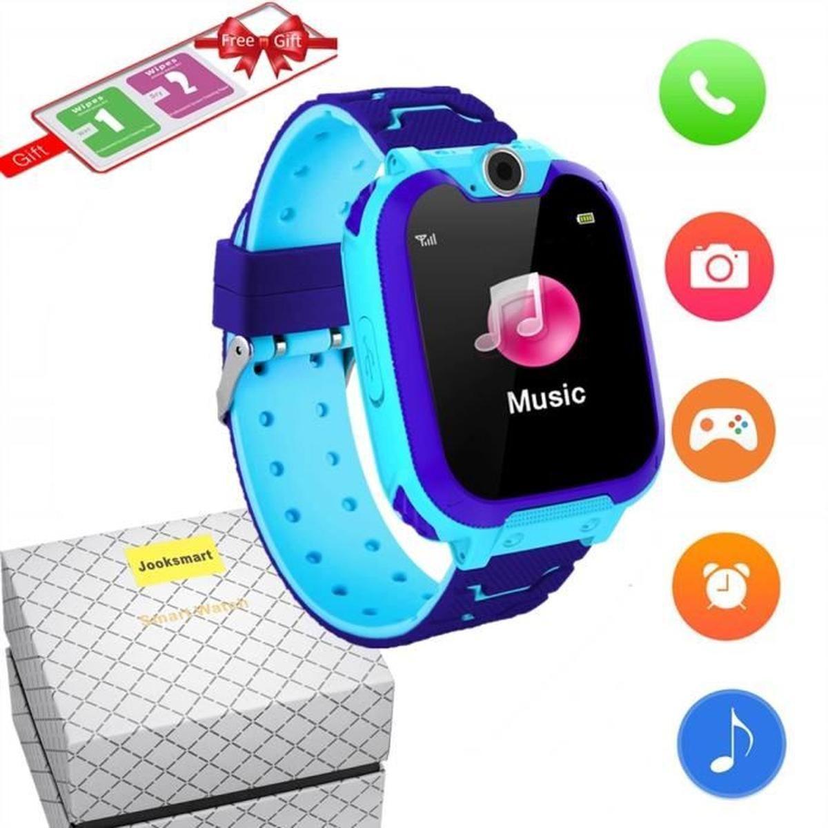 Jooksmart Montre Connectée Enfant Téléphone Smartwatch Jeu serapportantà Jeux Intelligents Pour Enfants