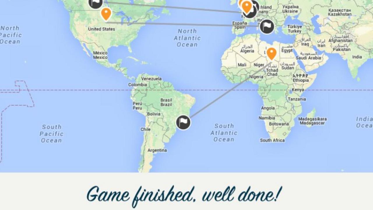 Jouer Au Bureau : Amusez-Vous Avec Google Maps | Lci encequiconcerne Jeux Geographique