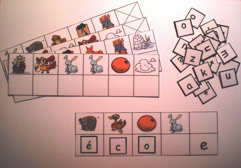 Jouer Avec Les Mots : Les Puzzles De Mots - Une Année Au Cp-Ce1 destiné Jouer Aux Puzzles Gratuitement