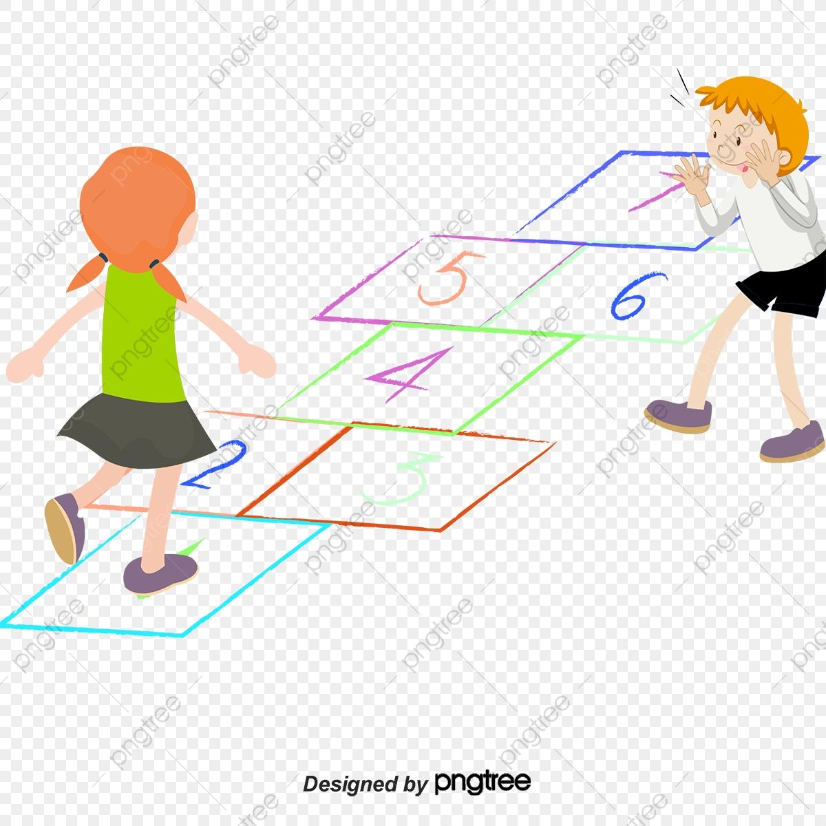 Jouer Les Enfants De Dessin De Jeu, Jouer Le Jeu, Dessin intérieur Jeux Enfant Dessin