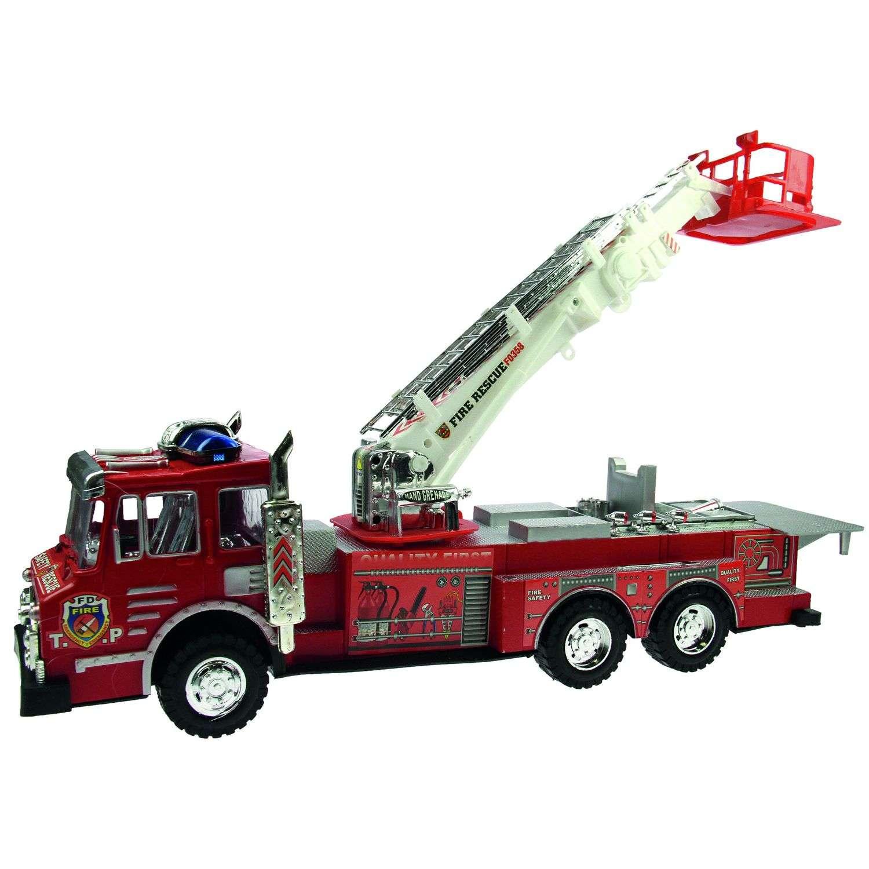 Jouet Camion De Pompier - L. 52 Cm - Rouge pour Jeux De Camion De Pompier Gratuit