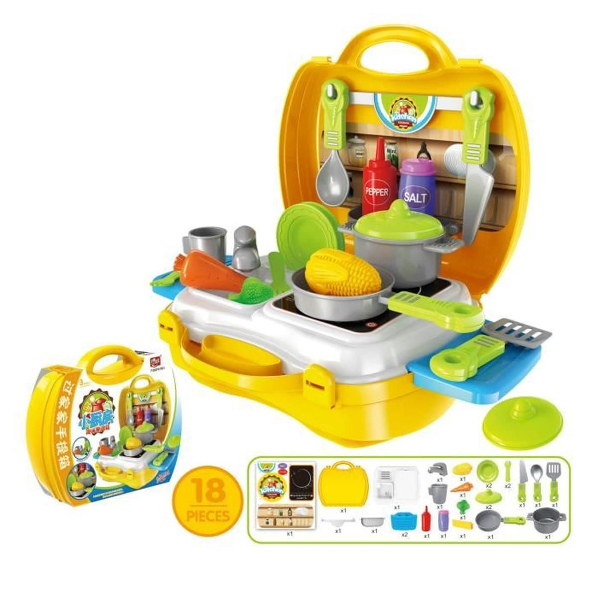 Jouet De Cuisine Éducatif Accessoire Cooking Play Jeu De tout Jeux Enfant Educatif