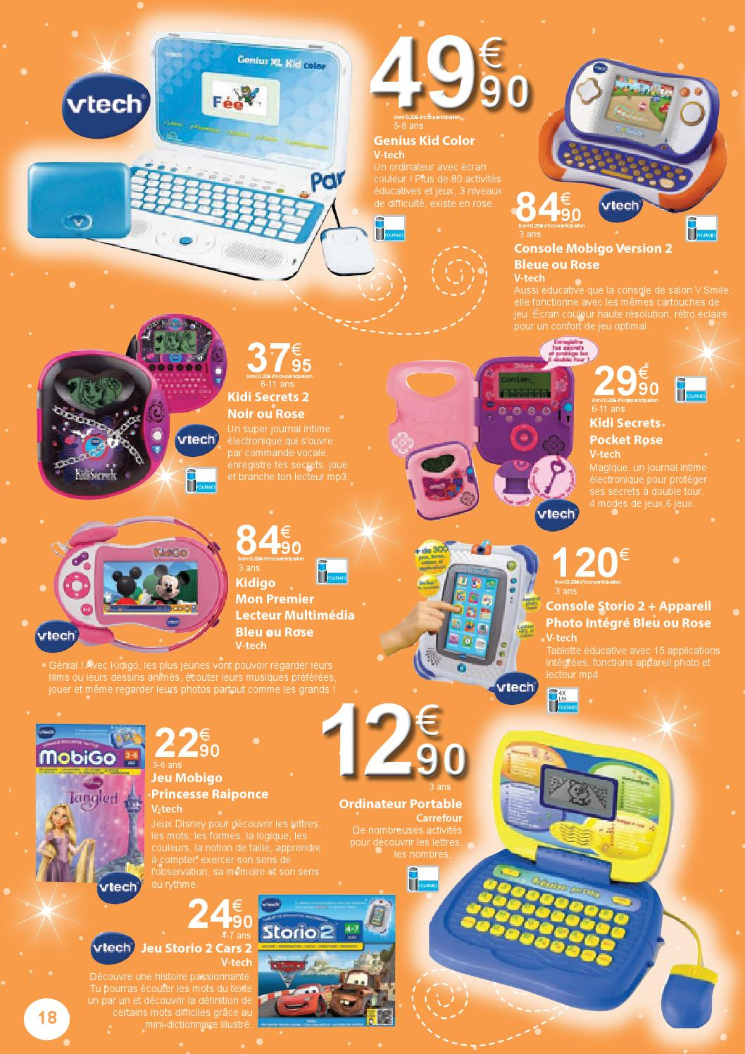Jouets By Carrefour - Issuu à Ordinateur 3 Ans