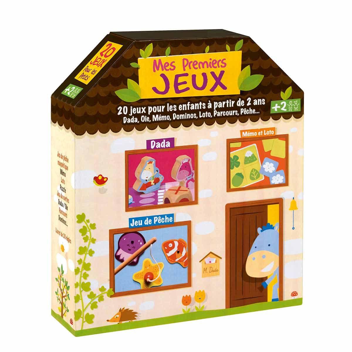 Jouets Oxybul Eveil Et Jeux - Coffret Mes Premiers Jeux Pour avec Jeux Pour Petite Fille