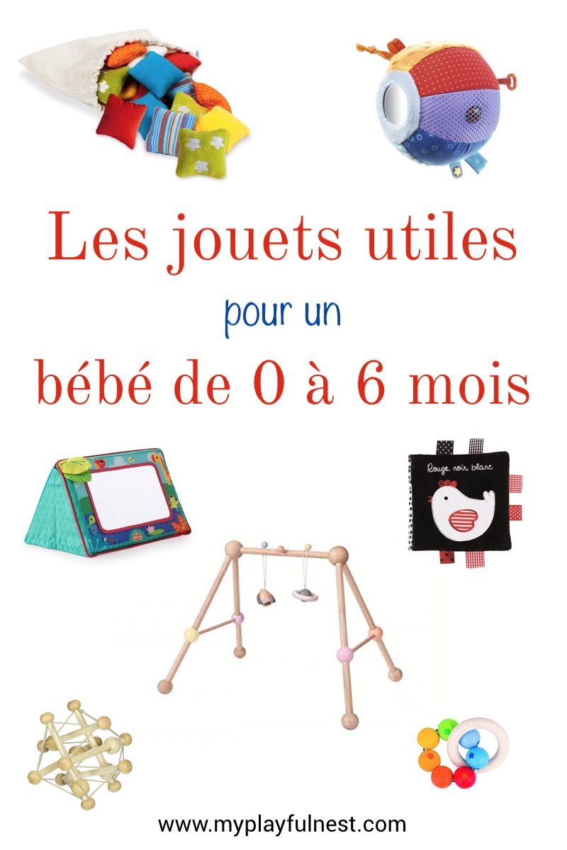 Jouets Pour Un Bébé De 0 À 6 Mois: Ce Qui Est Vraiment Utile intérieur Jeux Bébé 6 Mois En Ligne