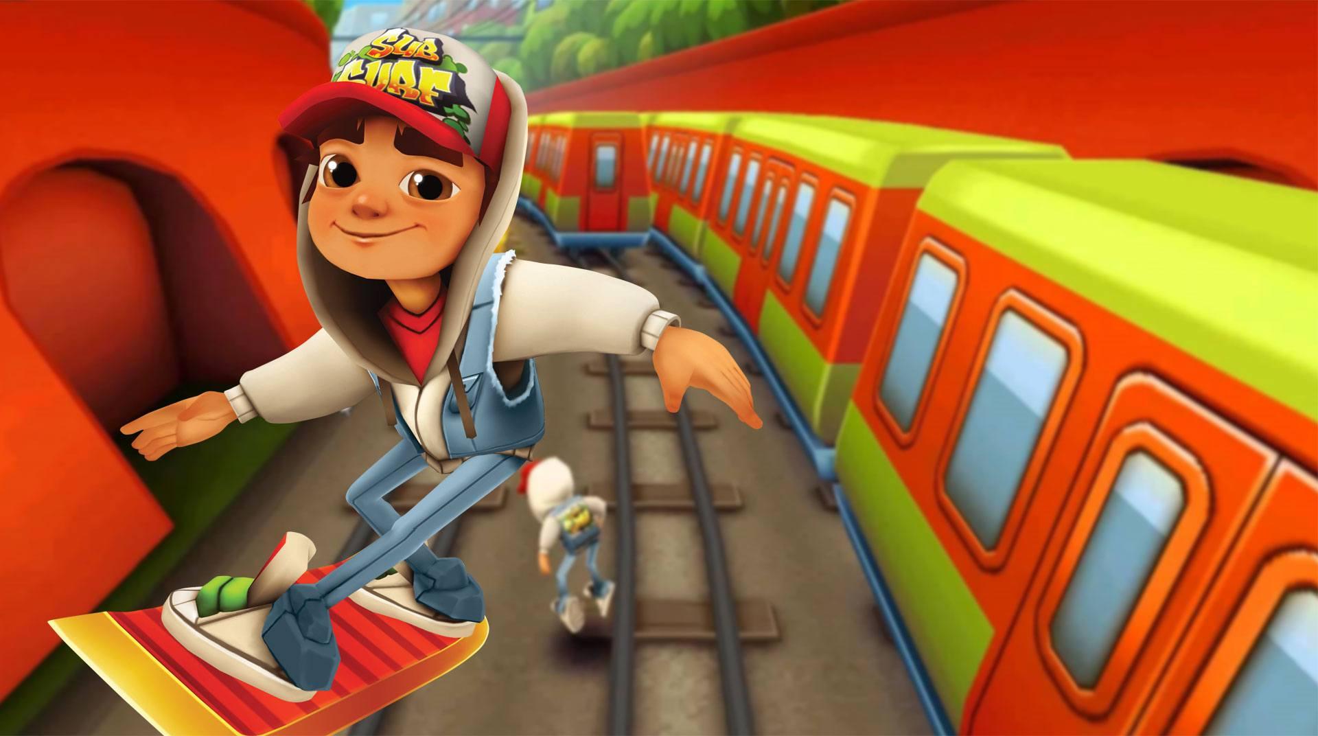 Jouez A Subway Surfer Sur Pc Avec L'émulateur Android Bluestacks pour Jeux De Piece Gratuit