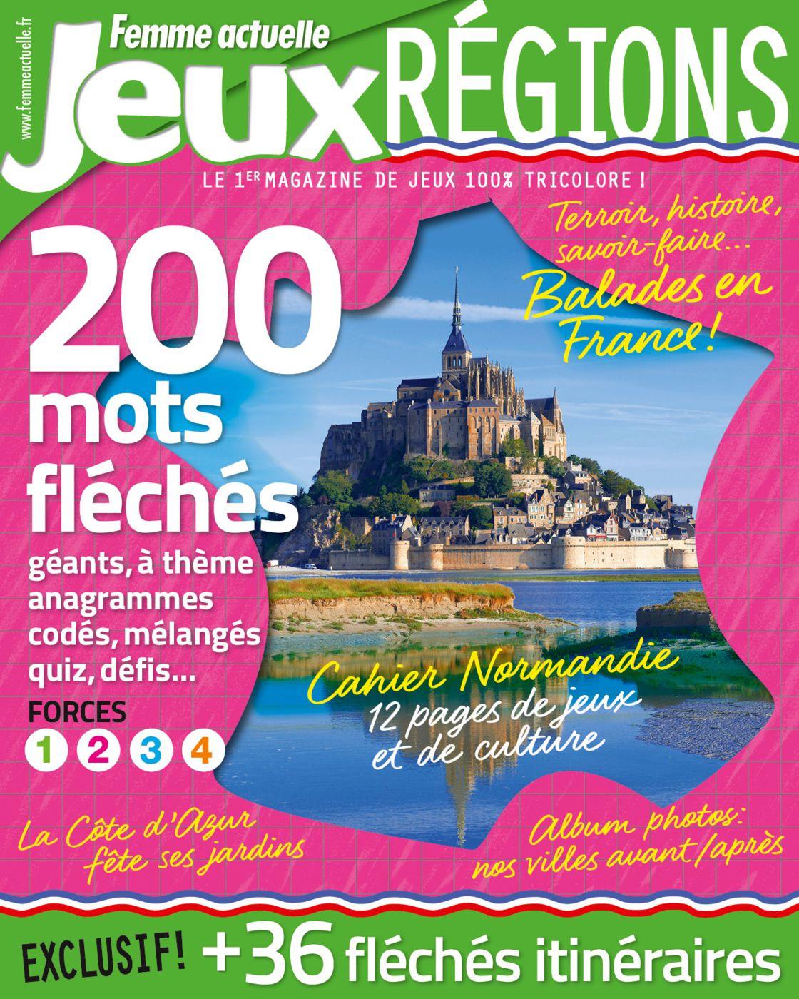 Jouez Et Découvrez Les Régions De France : Femme Actuelle Le Mag tout Anagrammes À Imprimer