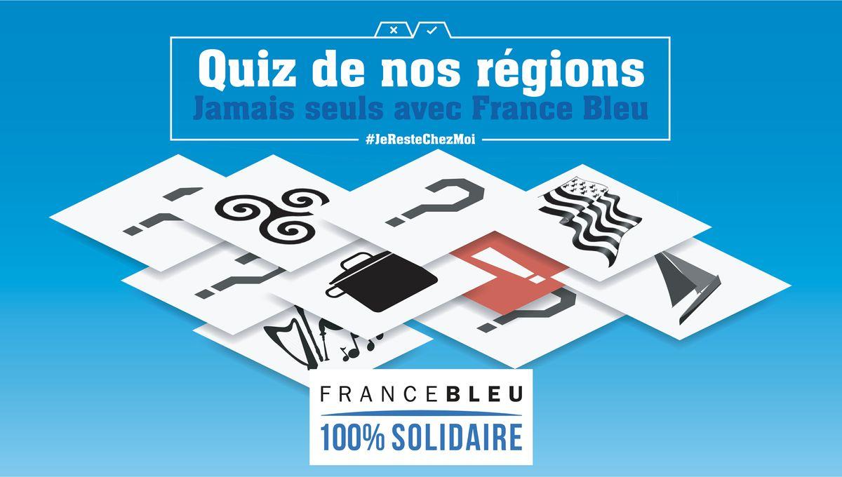 """Jouez - """"le Quiz De Nos Régions"""" 100% Breton En Direct Sur à Quiz Régions De France"""