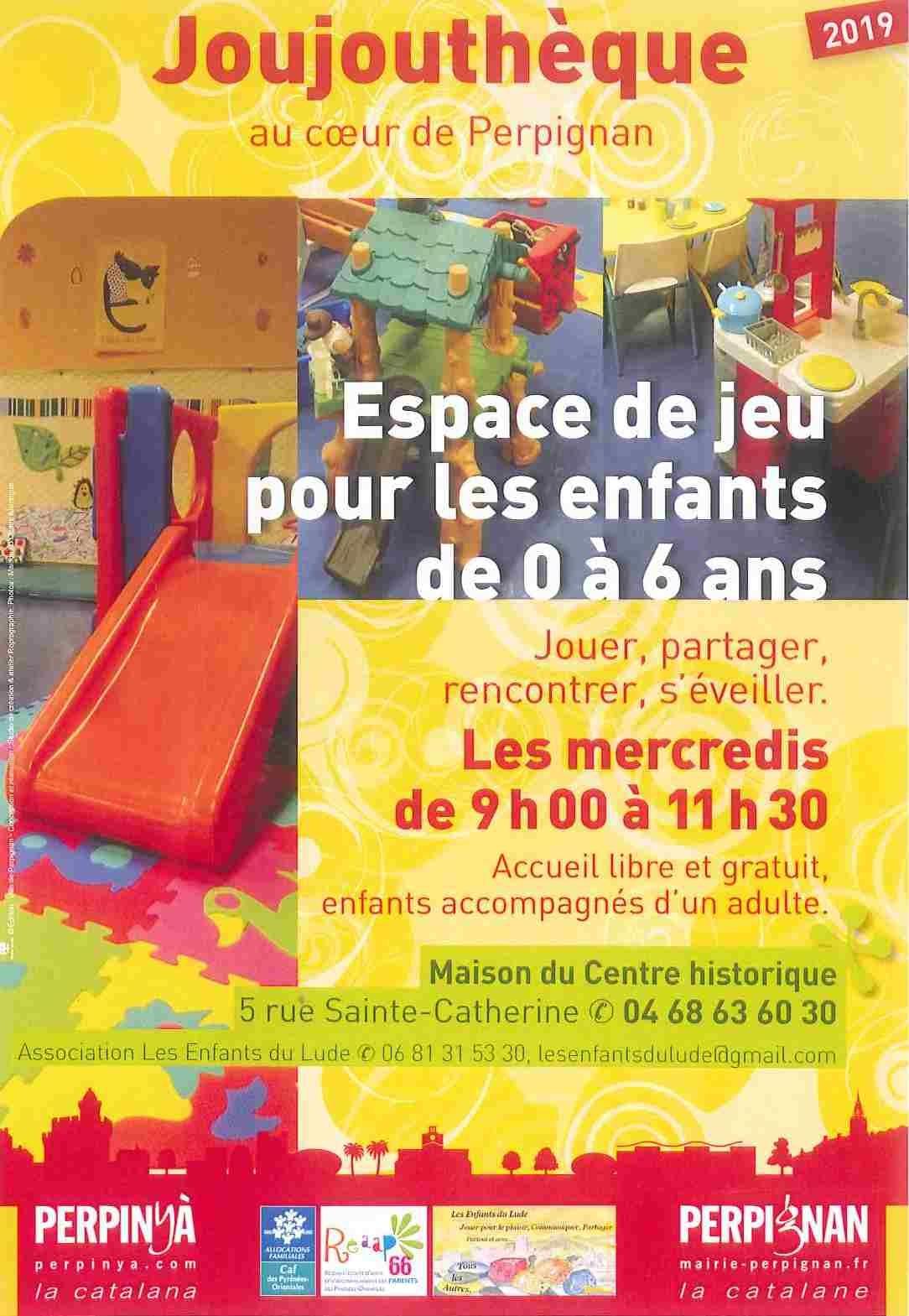 Joujouthèque : Accueil Jeu Tous Les Mercredis Matins En intérieur Jeux Enfant 6 Ans Gratuit