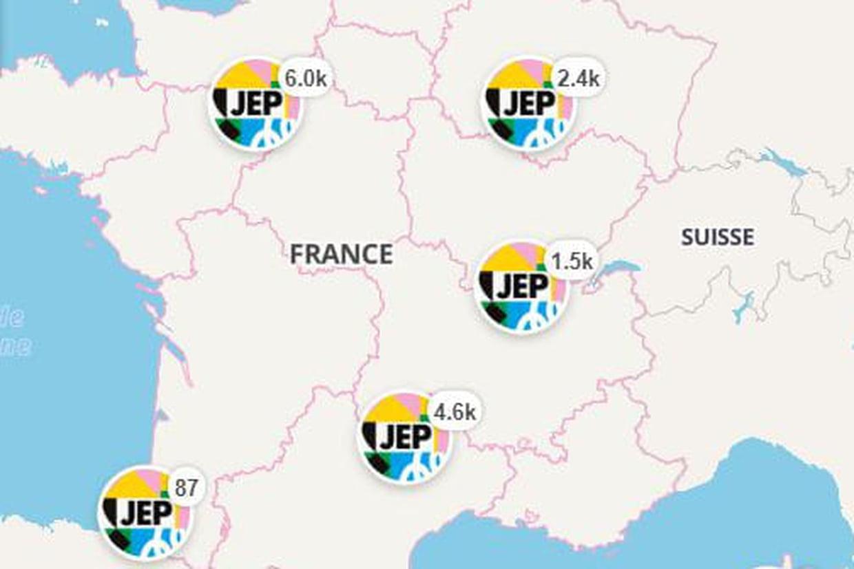 Journées Du Patrimoine : Paris, Lyon, Nantes Le Programme pour Carte Fleuve France