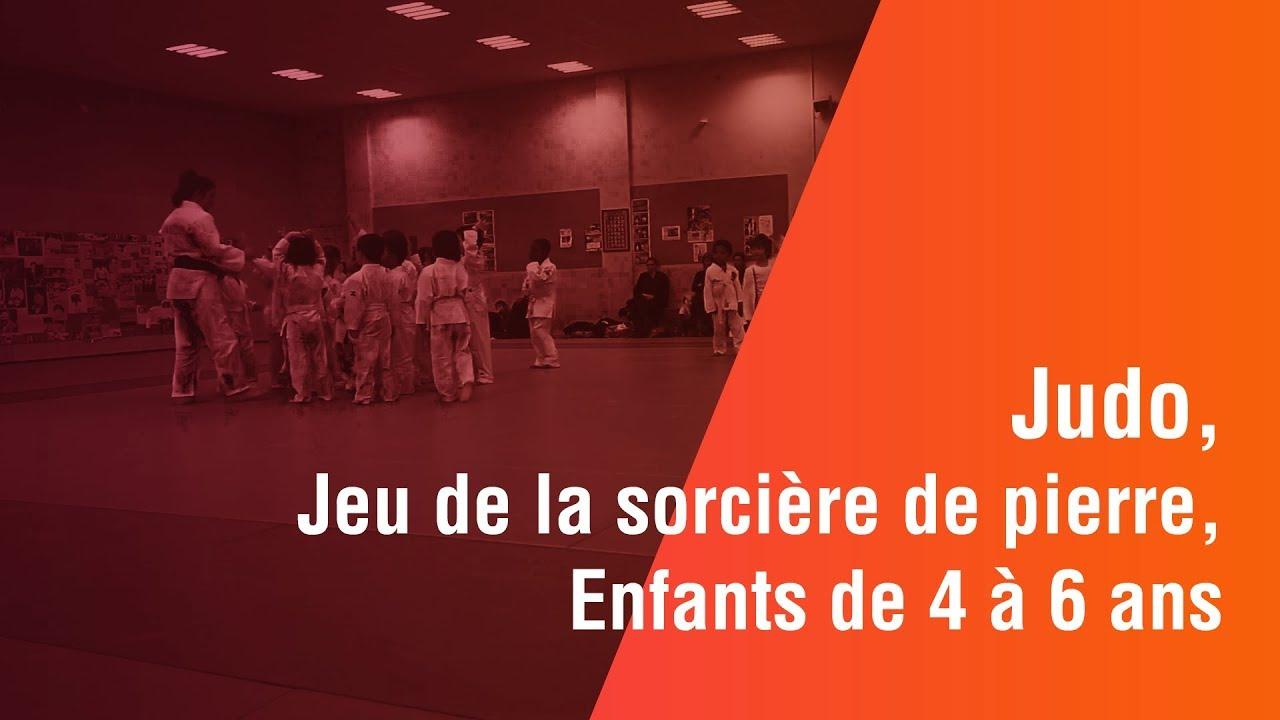 Judo, Jeu La Sorcière De Pierre, Enfants 4 À 6 Ans destiné Jeux Enfant 6 Ans Gratuit