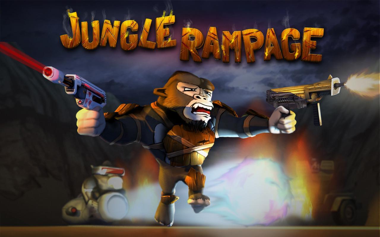 Jungle Rampage, Des Singes Avec Des Lasers Dans Un Temple dedans Jeux De Gorille Gratuit