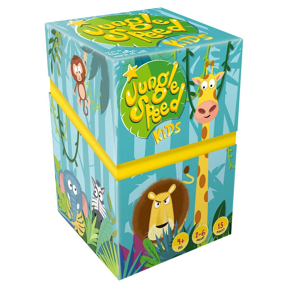 Jungle Speed Kids - Jeux De Société Et Puzzles - La Grande Récré concernant Jeux D Animaux Pour Fille