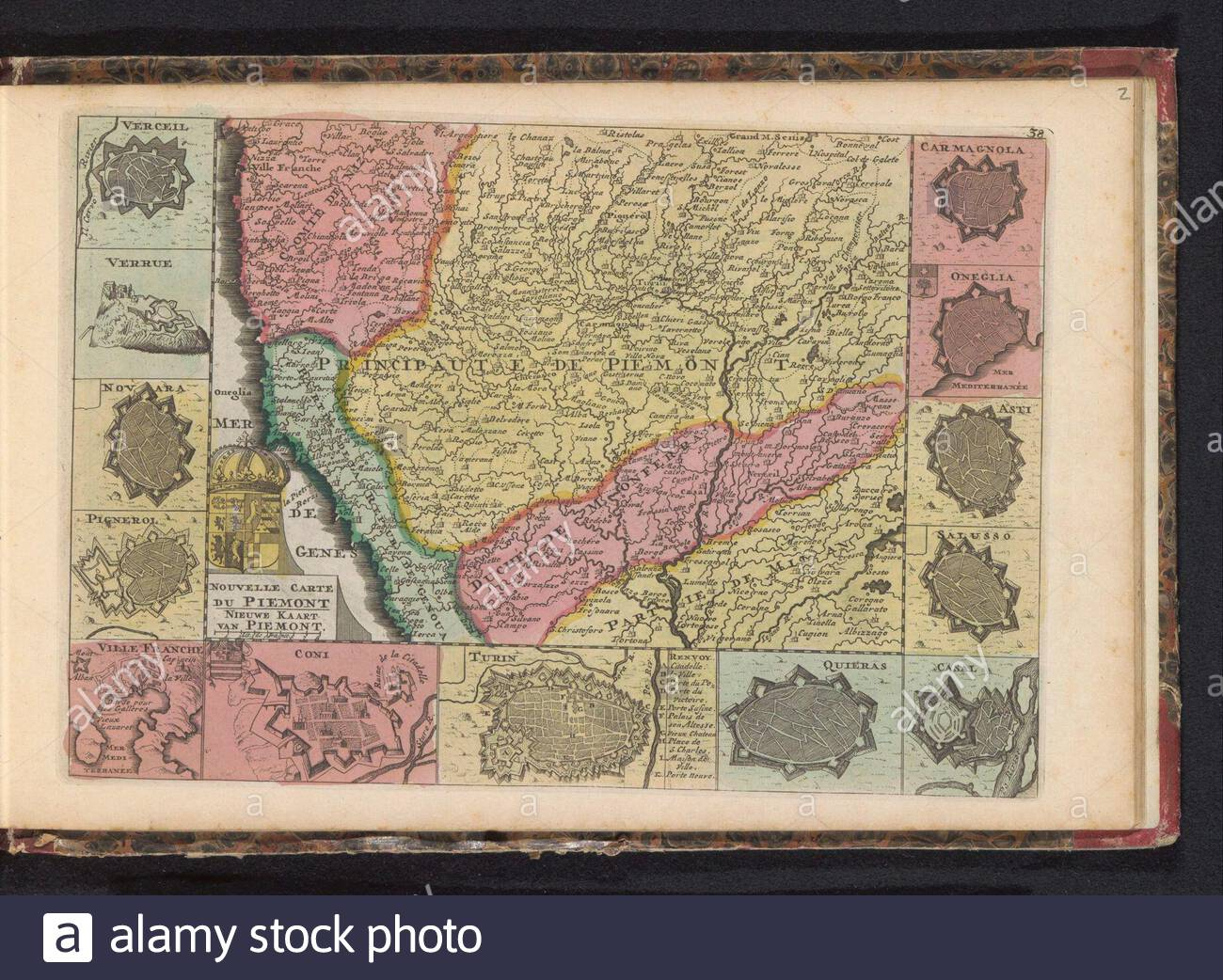Kaart Van Piemonte Nouvelle Carte Du Piemont Nieuwe Kaart destiné Carte Nouvelle Region