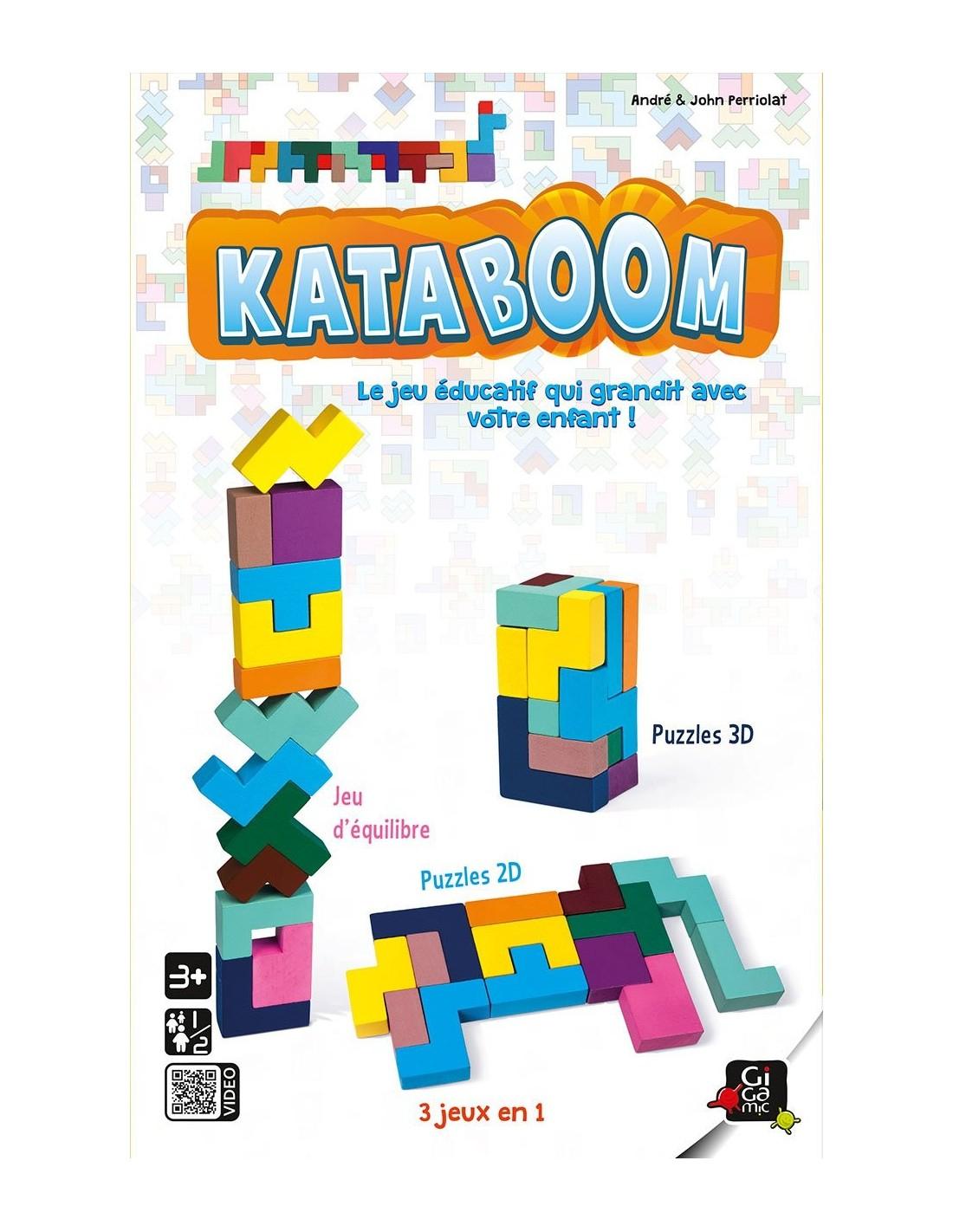 Kataboom 3D - Jeu Éducatif - Gigamic - Lapouleapois.fr pour Les Jeux Educatif