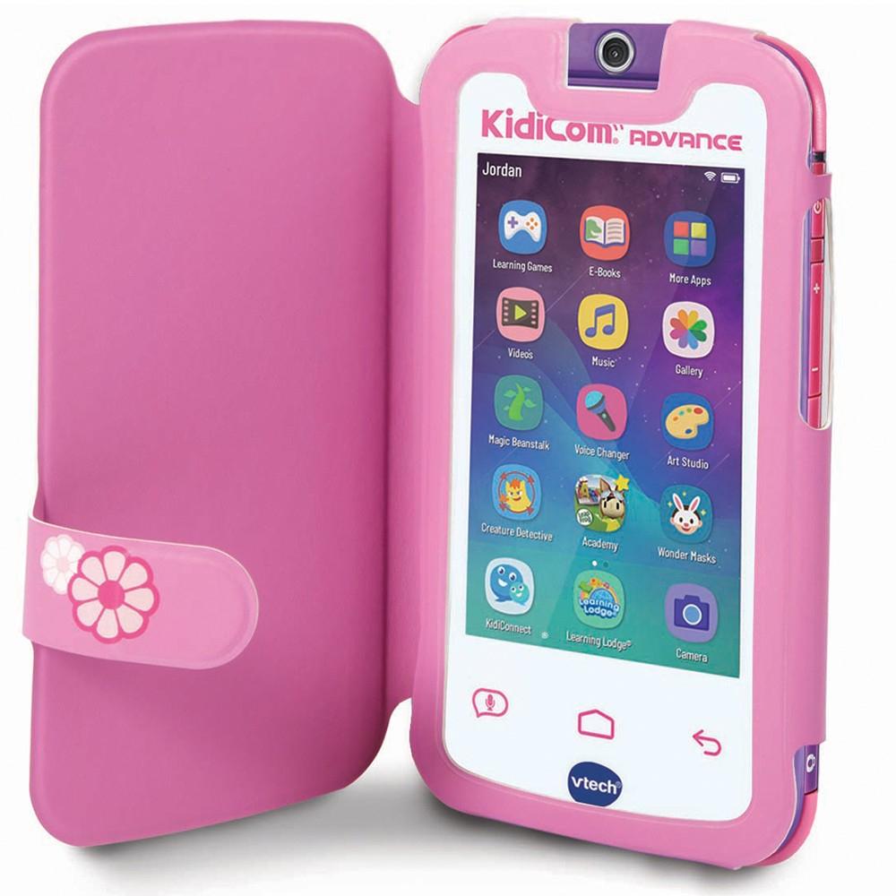 Kidicom : Premier Téléphone Portable Enfant - Vtech à Tablette Enfant Fille