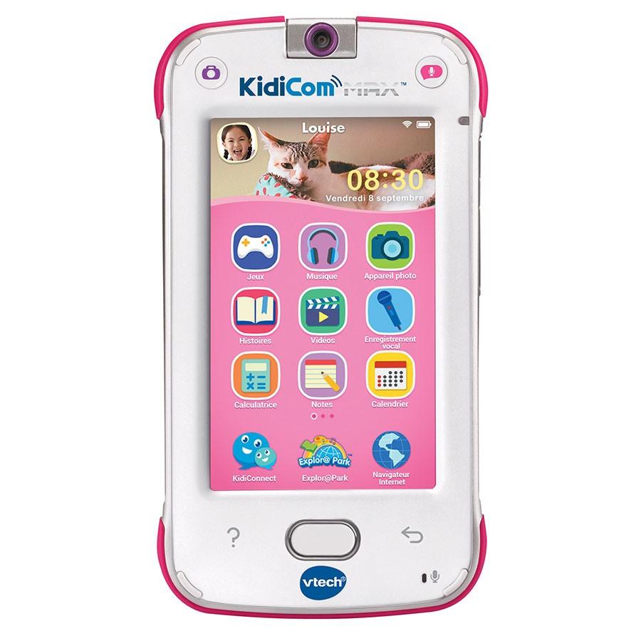 Kidicom : Premier Téléphone Portable Enfant - Vtech serapportantà Tablette Enfant Fille