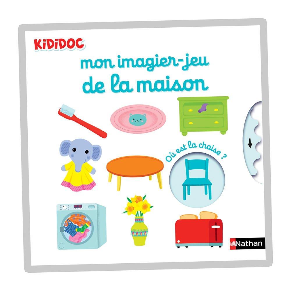 Kididoc - Mon Imagier Jeu De La Maison intérieur Imagier Bébé En Ligne