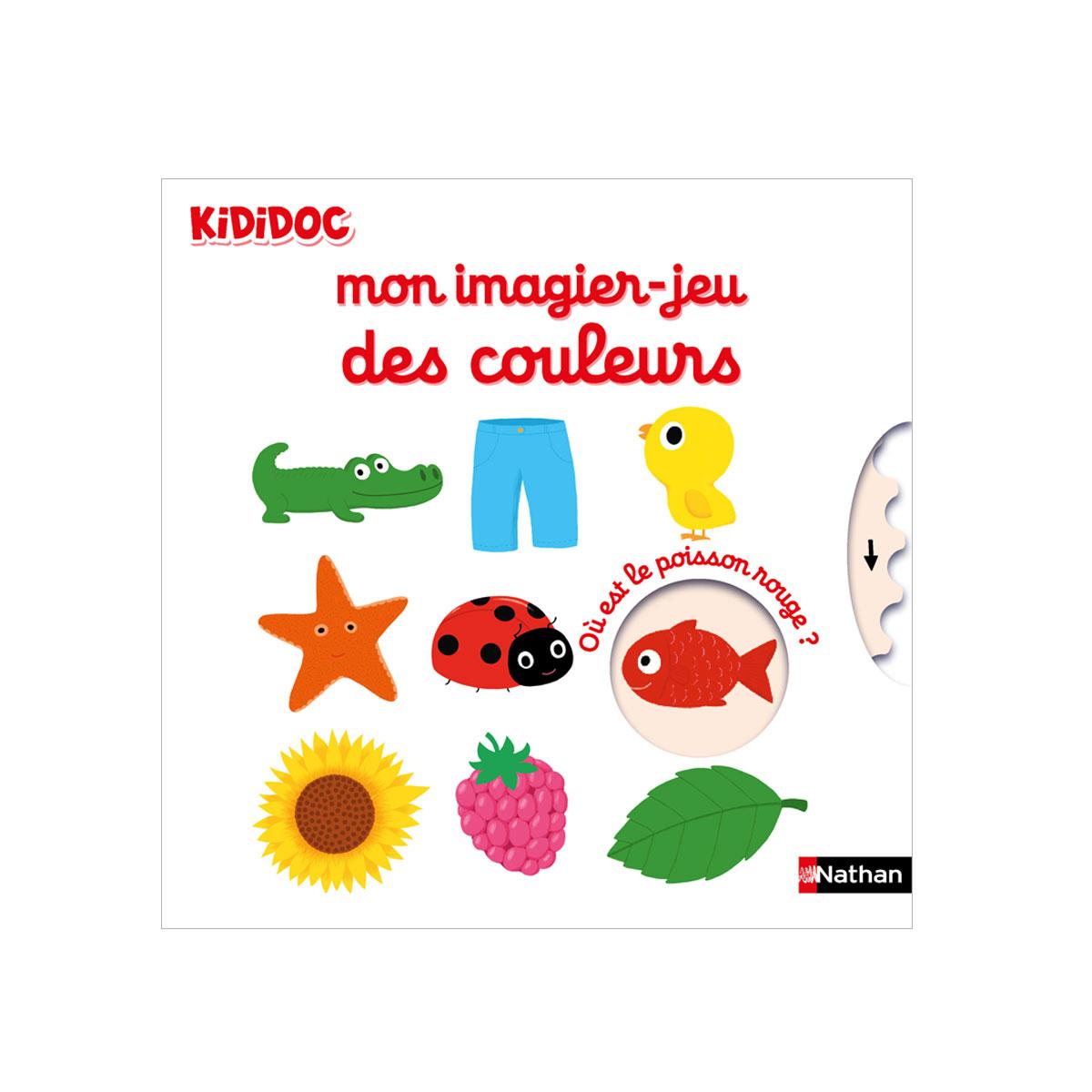 Kididoc Mon Imagier-Jeu Des Couleurs encequiconcerne Imagier Bébé En Ligne