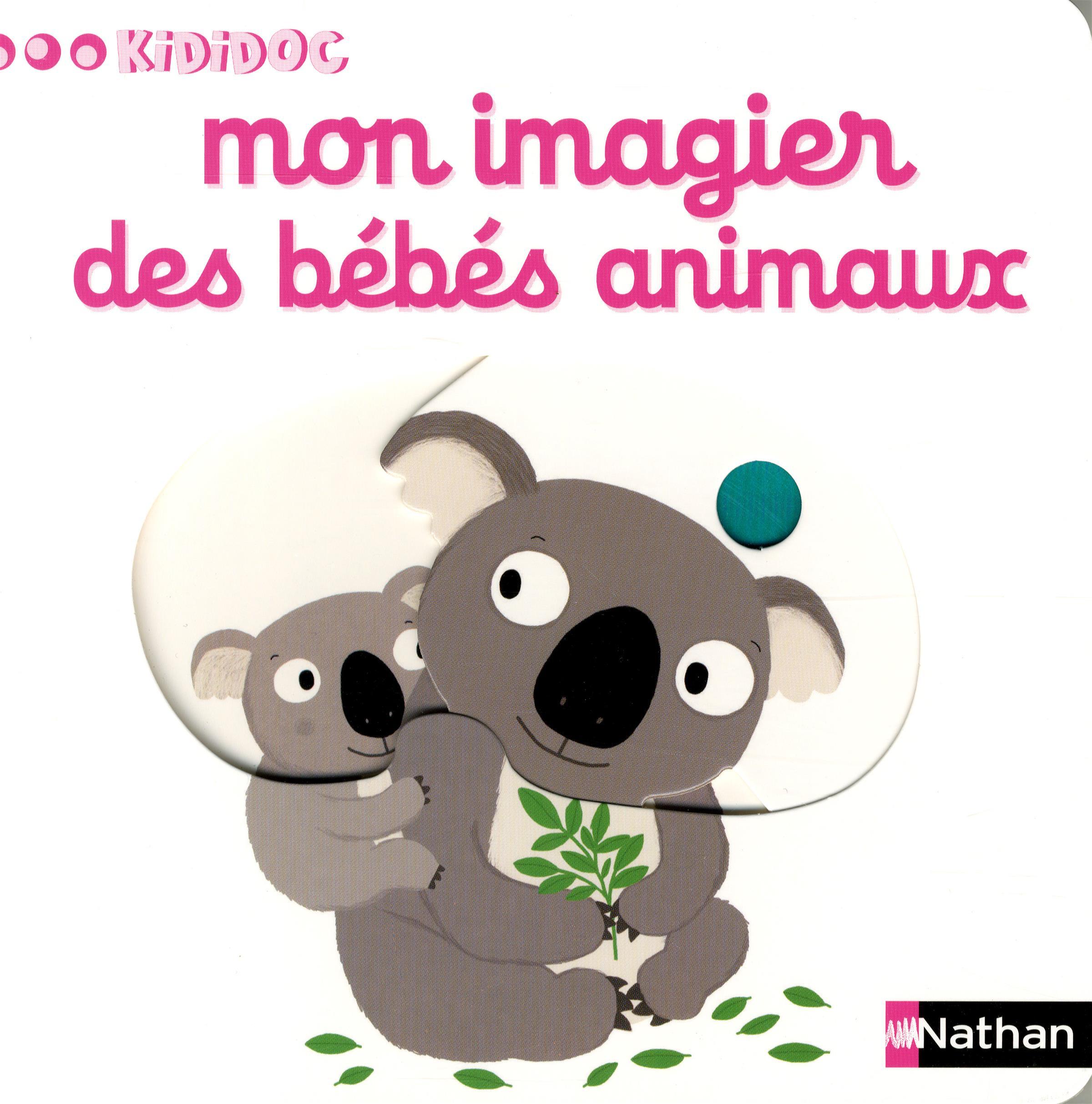 Kididoc Mon Imagier N.06 Des Bébés Animaux - Magasin En à Imagier Bébé En Ligne
