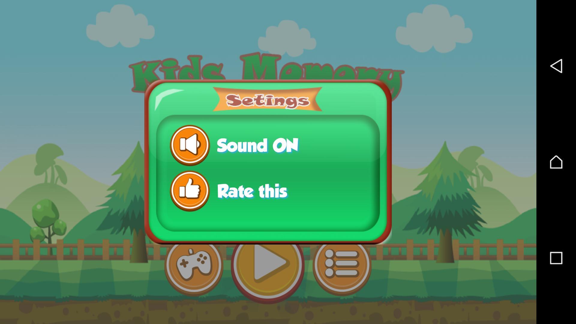 Kids Memory Games & Jeux De Mémoire Des Enfants For Android encequiconcerne Jeux De Memory Gratuit