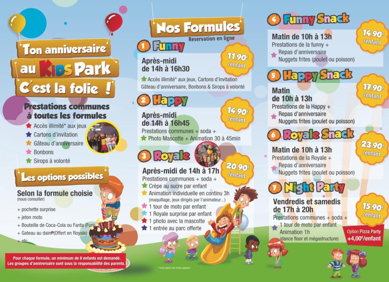 Kids Park, Parc De Jeux Pour Enfants À Marignane dedans Jeux Pour Enfan