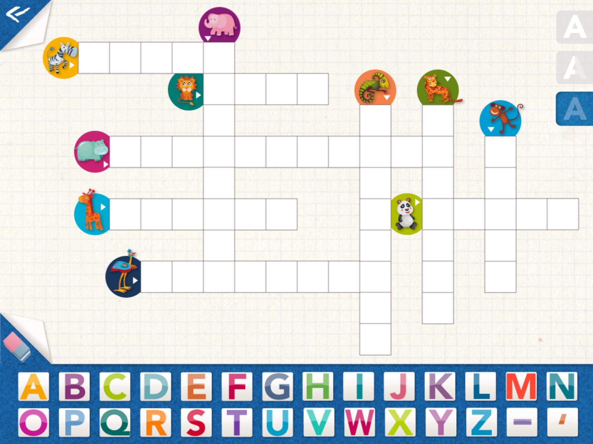 Kidschool : Mes Premiers Mots-Fléchés - Petitsgeeks.fr avec Mots Fleches Niveau 1