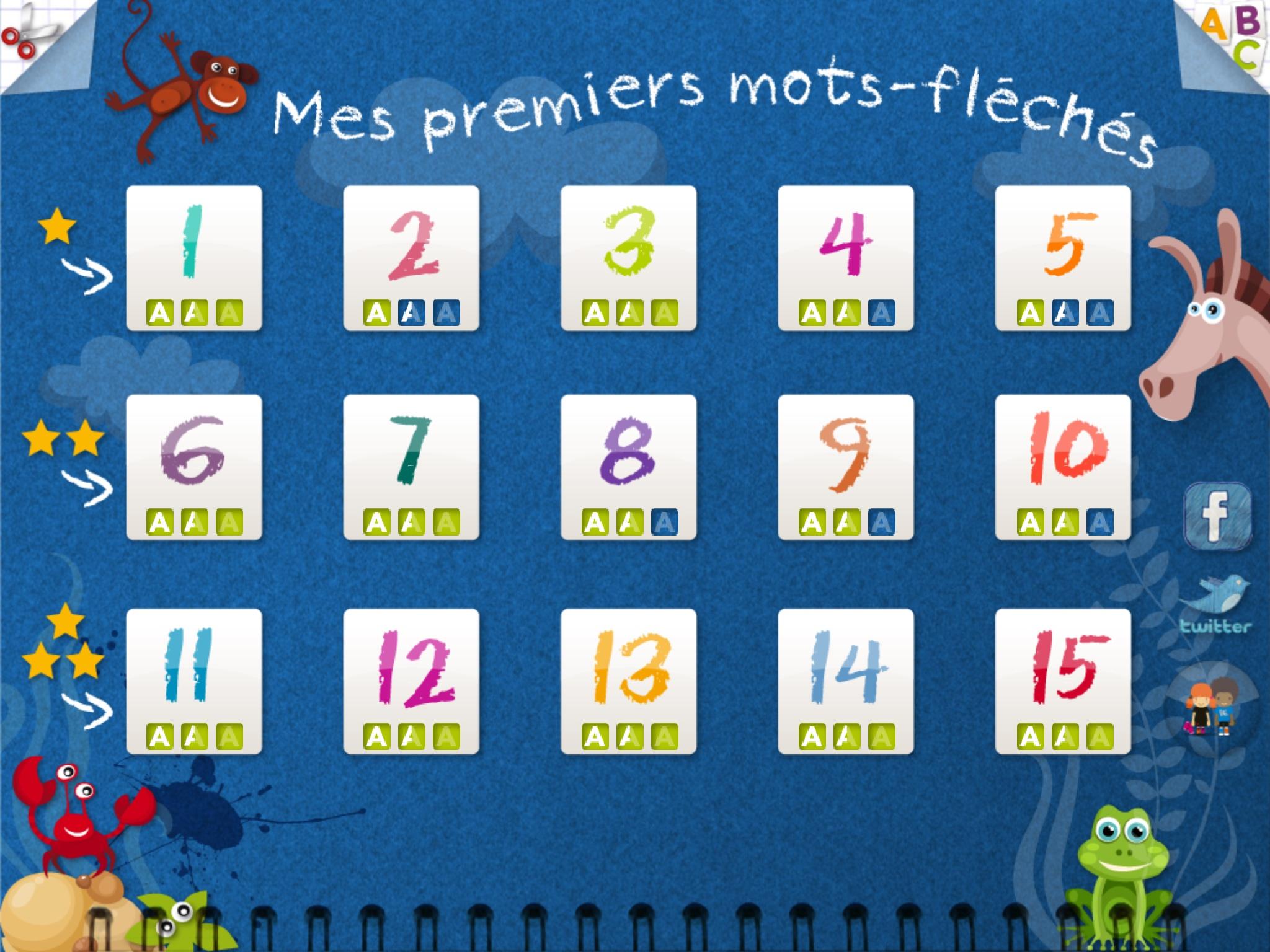 Kidschool : Mes Premiers Mots-Fléchés - Petitsgeeks.fr serapportantà Mots Fleches Pour Enfants
