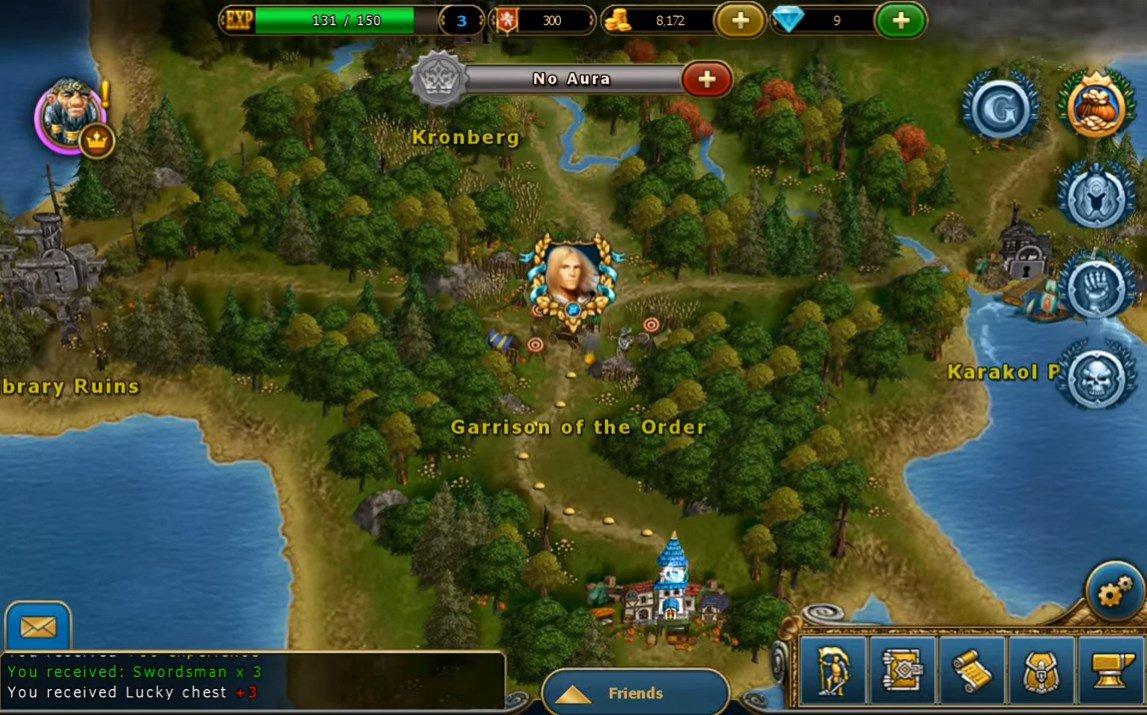King's Bounty Legions 1.10.80 - Télécharger Pour Android Apk intérieur Jouer Jeux De Strategie En Ligne Gratuit