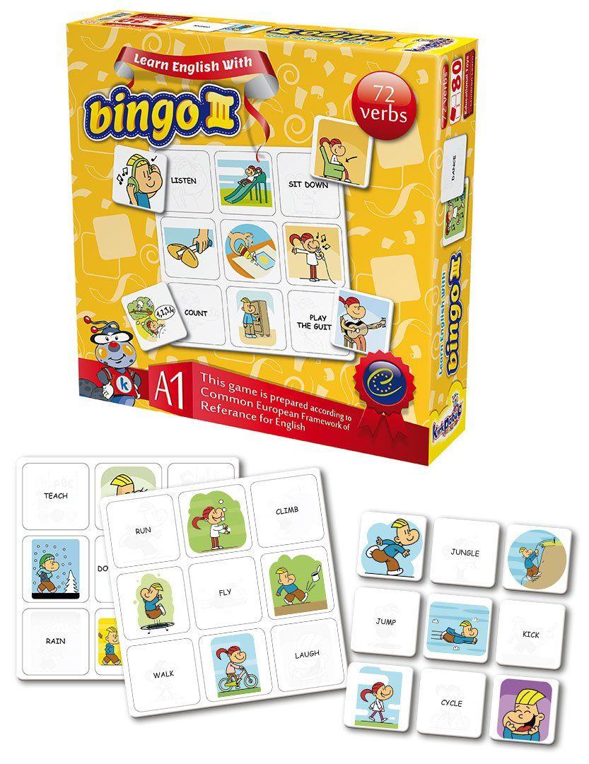 Kırkpabuç 7323 Bingo Iii Filler Eğitici Oyun - Kırkpabuç avec Tangram Cycle 3