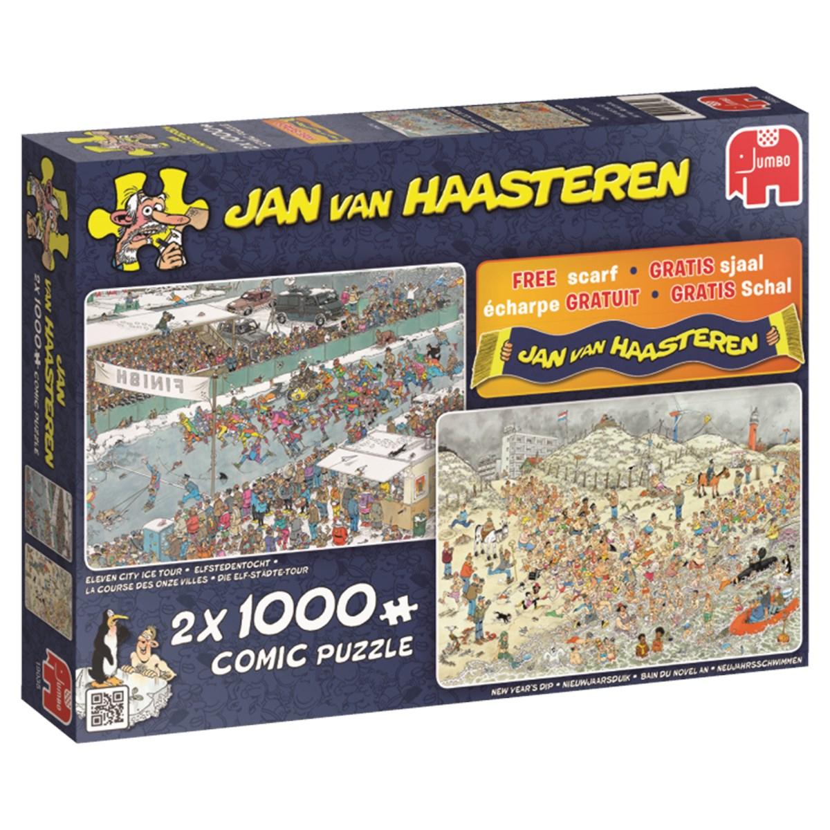 Kış Eğlenceleri, 2 X 1000 Parça concernant Puzzle Photo Gratuit