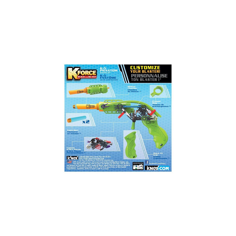 K'nex K-Force K-5 Phantom Yapı Seti 47538 Fiyatı tout Jeu Force 4