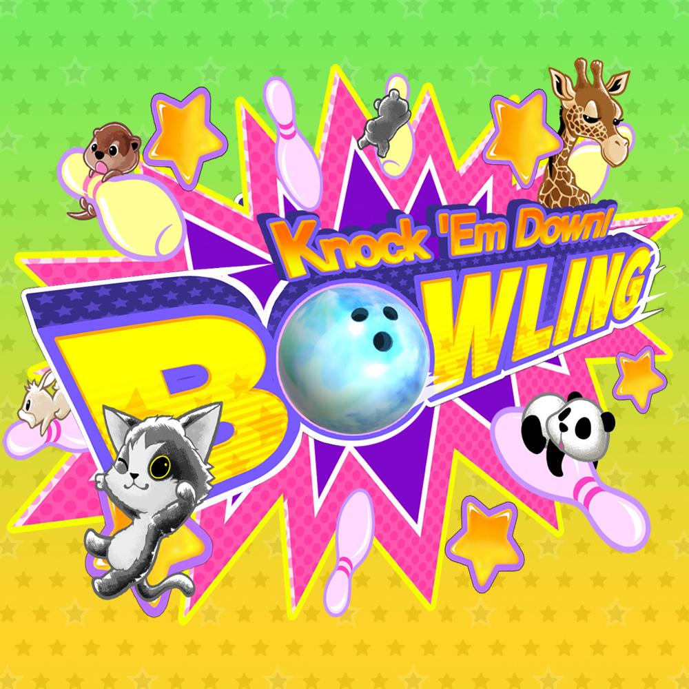 Knock 'em Down! Bowling | Jeux À Télécharger Sur Nintendo avec Jeux De Bouligue