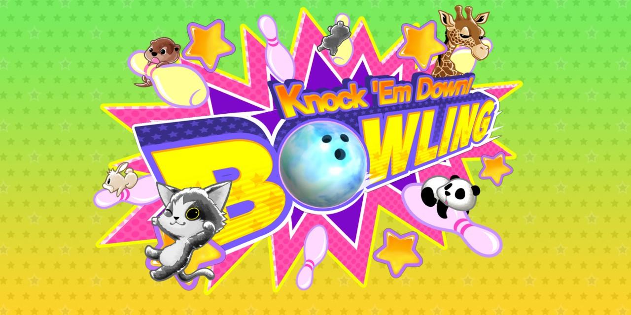 Knock 'em Down! Bowling | Jeux À Télécharger Sur Nintendo dedans Jeux Gratuits De Bowling