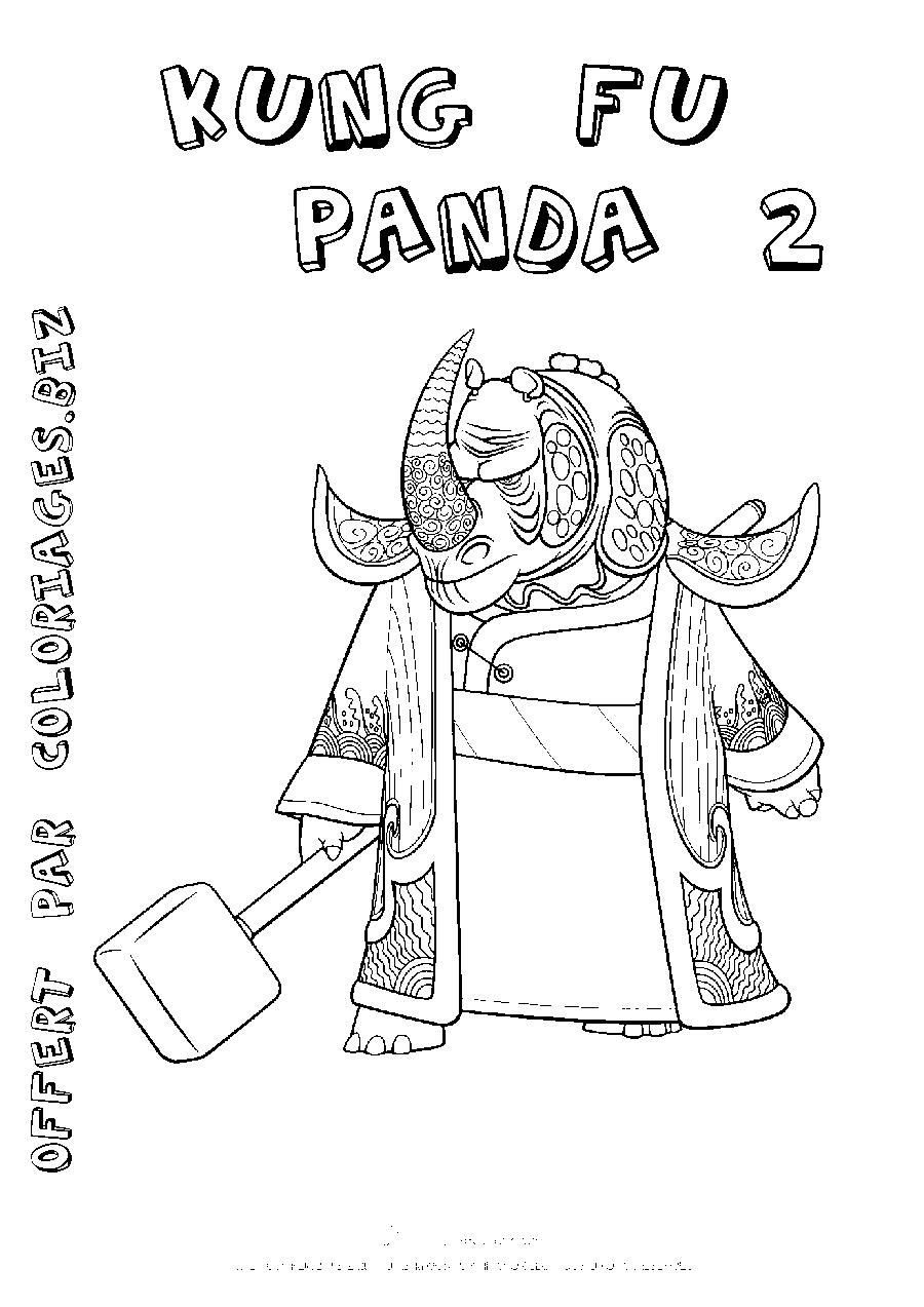 Kung Fu Panda #23 (Animation Movies) – Printable Coloring Pages encequiconcerne Panda À Colorier