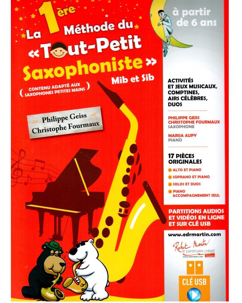 La 1Ère Méthode Du Tout Petit Saxophoniste encequiconcerne Jeux En Ligne Tout Petit