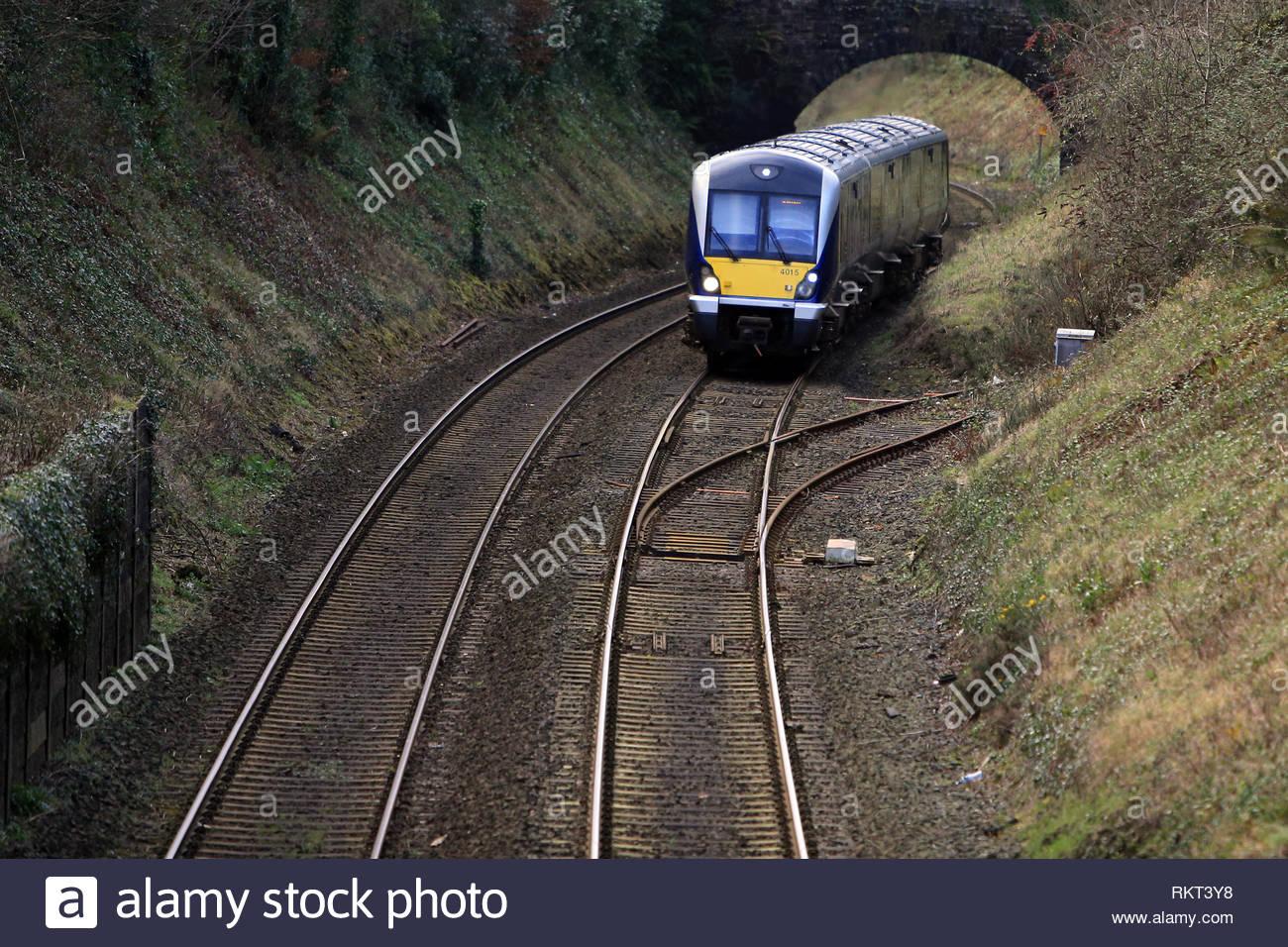 La Belfast À Ligne De Chemin De Fer À Bangor, Comté De Down destiné Puissance 4 A Deux