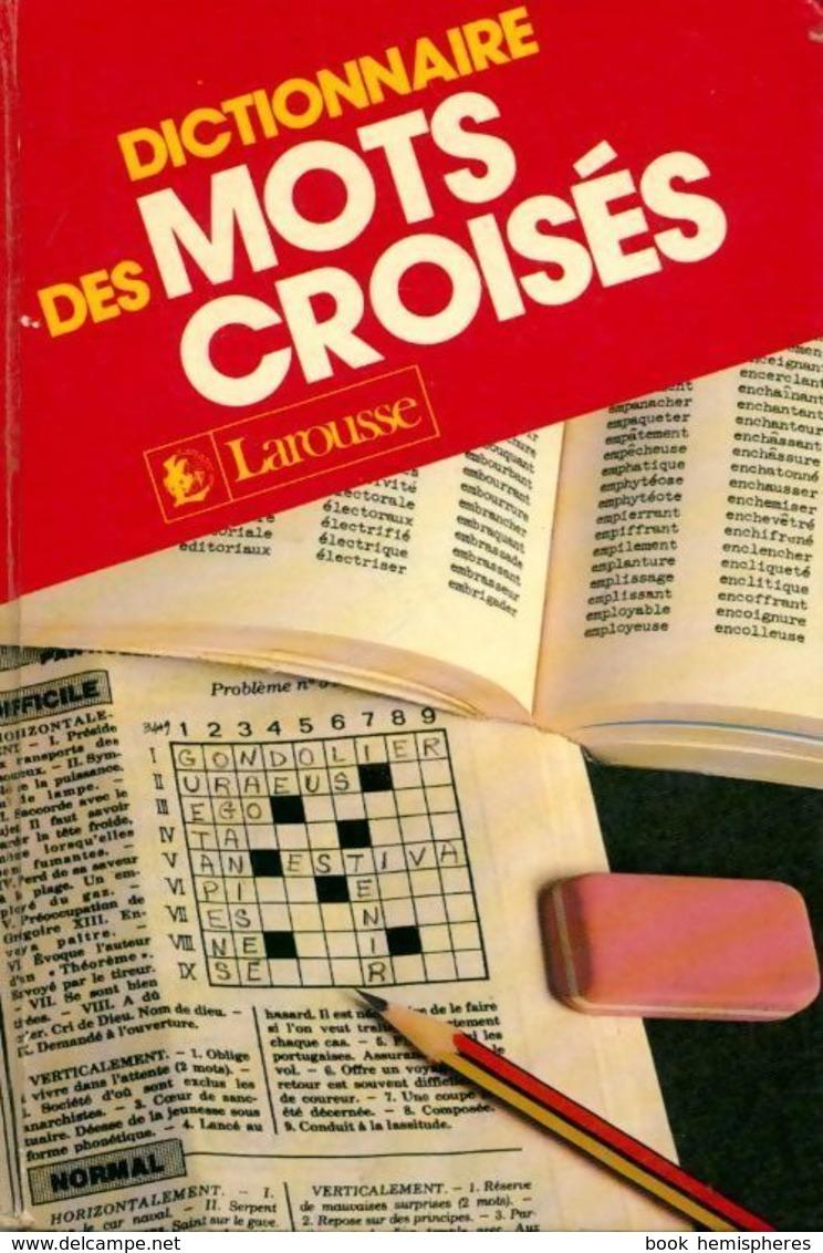 La Bibliothèque Du Cruciverbiste - Cruciverbiste.club tout Pas Simple Du Tout Mots Fleches