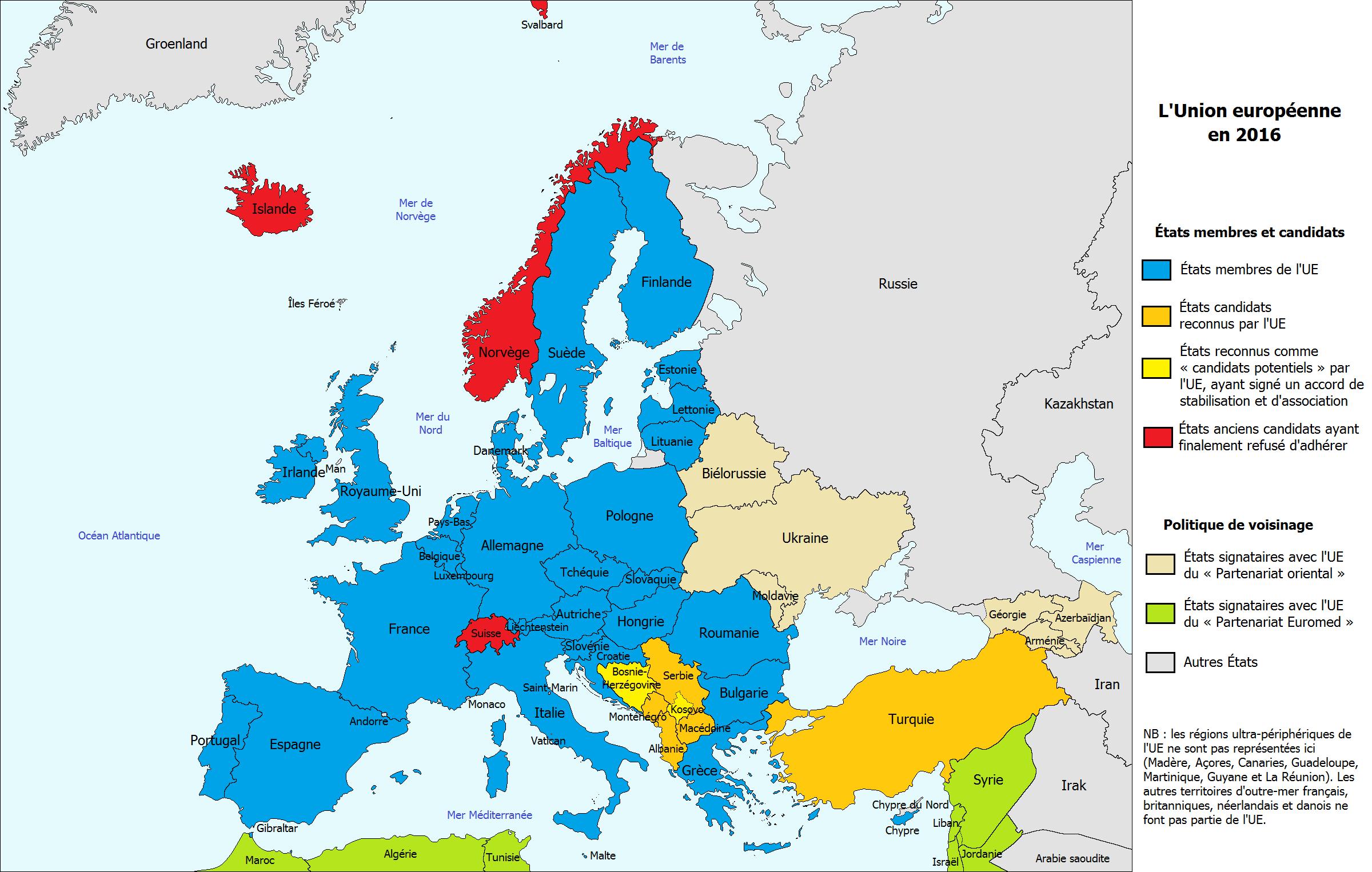 La Carte De L'union Européenne - Parlorama concernant La Carte De L Union Européenne